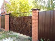 Строим заборы, навесы, откатные ворота