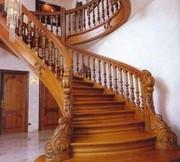 Недорогие и надежные перила и лестницы из нержавейки и дерева - foto 0