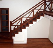 Недорогие и надежные перила и лестницы из нержавейки и дерева - foto 1