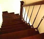 Недорогие и надежные перила и лестницы из нержавейки и дерева - foto 2