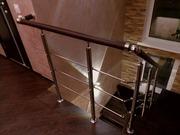 Недорогие и надежные перила и лестницы из нержавейки и дерева - foto 3