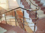 Недорогие и надежные перила и лестницы из нержавейки и дерева - foto 5