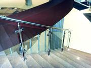Недорогие и надежные перила и лестницы из нержавейки и дерева - foto 6