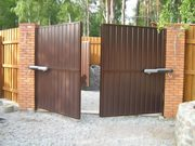 Недорогие и надежные ворота в дом и гараж - foto 0
