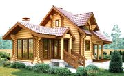 Недорогие дома из бревна