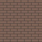 Фасадный кирпич Кемма,  цвет коричневый - foto 0