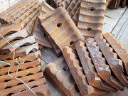 Бронеплиты для сырьевых и цементных мельниц 2х10, 5,  2, 6х13,  3, 2х15,  4,  - foto 0