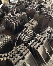Бронеплиты для сырьевых и цементных мельниц 2х10, 5,  2, 6х13,  3, 2х15,  4,  - foto 2