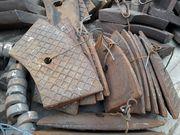 Зап. части мельниц: торцевые футеровки,  лобовые бронеплиты,  сектора ре - foto 0